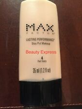 Max Factor Lasting Performance Stay Put Makeup #4 Fair Ivory