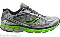 Saucony Omni 12 20206-3 Men's Silver / Green / Black Running Shoes
