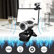 USB 2.0 1080P HD WebCam Web Camera Video with Mic 360° for MSN Skype Deskt