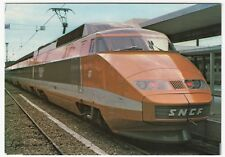 French TGV Loco No 7 PPC, Unposted, Approx 1981, By Lynacolor