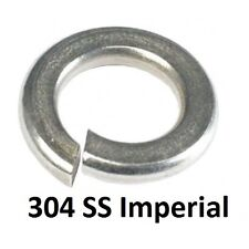 """Qty 100 Spring Washer 5/16"""" (5/16"""") Imperial Stainless Medium Section SS 304"""