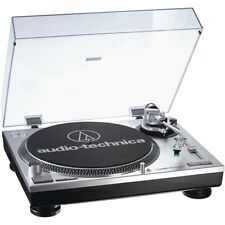 Audio Technica AT-LP 120 USB Plattenspieler Direktantrieb inkl. AT95E - silber