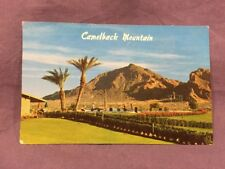 Camelback Mountain as seen from Paradise Country Club postcard