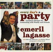 Every Day's a Party - Emeril Lagasse (Hardcover) Louisiana Recipes