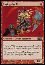 *MRM* FR 4x Gobelin enragé (Raging Goblin) MTG Magic 2010-2015