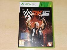 WWE 2K16 Xbox 360 UK PAL