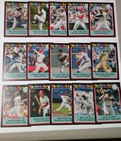 2020 TOPPS HERITAGE BASEBALL FLASHBACKS INSERT SINGLES- U PICK COMPLETE YOUR SET