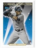2018 TOPPS ARCHIVES - COMING ATTRACTION - MIGUEL ANDUJAR RC