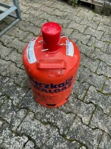 Propan Gasflasche rot 11kg leer Tyczka energy mit  Kappe