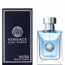 Versace Pour Homme By Versace Cologne For Men 1.7 o / 50 ml EDT Sealed Box NEW!
