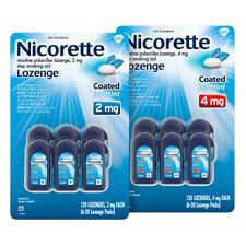 Nicorette Quit Smoking Aid 2mg., Ice Mint Lozenge, 120-pieces