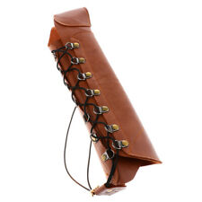 Adjustable Archery Arm Guard for Recurve Compound Long Bow Hunting  - Brown