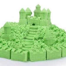 Magic Motion Sand Play Indoor Sand Build Mould Toy Kids DIY Craft 400g Green