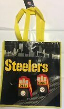 NFL Pittsburgh Steelers Defense Incline Trolley Car Reusable Shopping Bag