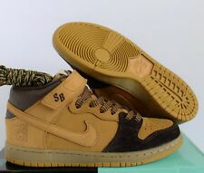 "NIKE SB DUNK MID PRO ""LEWIS MARNELL"" CAPPUCCINO-BRONZE-WHEAT SZ 7 [AJ1445-200]"