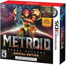 Metroid: Samus Returns Special Edition with Archives Music CD Nintendo 3DS 2017