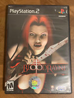BloodRayne Sony PlayStation 2 Complete W/ Case & Manual Working PS2