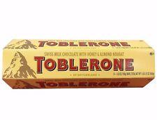 Toblerone Swiss Milk Chocolate with Honey & Almond Nougat 6 Bars 1 LB 5.12 OZ