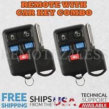 2 Remote for 2004 2005 2006 2007 Ford Freestar Keyless Entry Car Key