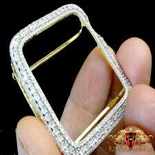 Apple Watch Genuine Diamond Case 40MM Sport Bezel 1.25 Ctw Yellow Gold Finish