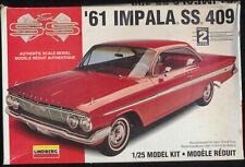 1961 Chevrolet Impala SS 409  1/25  Lindberg