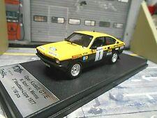 OPEL C Kadett Coupe GT/E Rallye Gr.1 #1 Röhrl Menne Westfalen-Lippe Trofeu 1:43