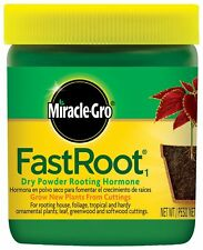 Miracle-Gro FastRoot Dry Powder Rooting Hormone Jar 1-1/4-Ounce