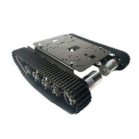TS100 Metal RC Robot Tank Car Chassis Shock Absorption Car with 12V 330RPM SZ-