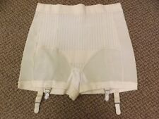 Sculpting Vtg 1950s 60s NEW NOS Materna Girdle Garters Panties XL Rayon Rubber