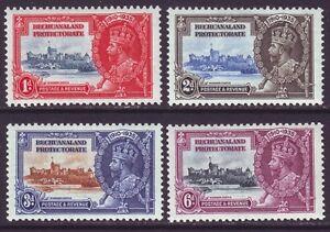 Bechuanaland 1935 SC 117-120 MH Set Silver Jubilee