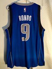 Adidas Swingman NBA Jersey Dallas Mavericks Rajan Rondo Blue sz XL