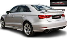Dachspoiler Heckspoiler für Audi A3 S3 RS3 8V Spoiler Dachkantenspoiler Limo Cab
