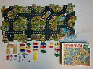 Adventure Floor Puzzle Discovery Toys 1986