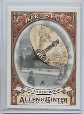 2017 Topps Allen & Ginter Solar Generator World's Fair Insert Card