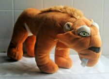 2012 ICE AGE CONTINENTAL DRIFT DIEGO PLUSH TOY FACTORY Doll Sabertooth Tiger 13""