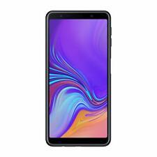 Samsung Galaxy A7 Smartphone, 64 GB, Dual SIM, Nero GRADO C VETRO ROTTO