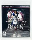 Alice Madness Returns - PS3 - Brand New   Factory Sealed