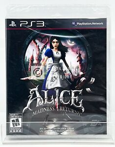 Alice Madness Returns - PS3 - Brand New | Factory Sealed