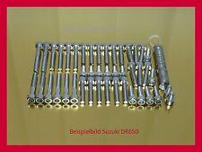 Suzuki DR650 / DR 650 V2A Edelstahl Schrauben Motorschrauben Schraubensatz