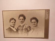 Leipzig - 3 Frauen im Kleid - Portrait / CDV