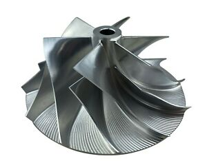 6+6 Billet Compressor Wheel for 04-17 Dodge Ram 5.9L 6.7L HE351CW HE351VE Turbo
