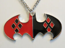 HARLEY QUINN X BATMAN DIAMOND CHARM PENDANT W/NECKLACE FIGURE *NEW* RARE SALE!!!