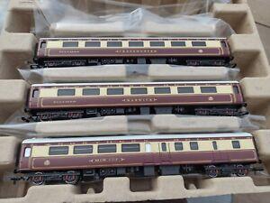 Hornby R3697 West Coast Railways Northern Belle Coach Pack ( 3x Mk2 Coaches)