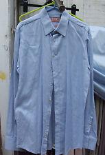 Thomas Pink Jermyn Street London Excellent Mens Blue Houndtooth Shirt 39 15+1/2