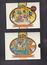 2003 Baby UNC Coin Set Koala Series Australia Birthday Year Birth