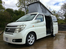 NISSAN ELGRAND CAMPERVAN IN HOUSE BESPOKE CAMPERVAN