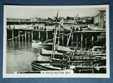 BRIDLINGTON HARBOUR   Vintage Photo Card