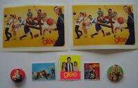 ⭐⭐⭐⭐  2 Anstecker + 5 Sticker  ⭐⭐⭐⭐ GLEE ⭐⭐⭐⭐ Collection ⭐⭐⭐⭐ Sammlung ⭐⭐⭐⭐