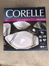 Corelle Dinnerware Set Simple Sketch