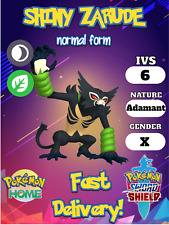 ✨SHINY✨Zarude mythical 6 IV pokemon sword and shield 🚀Instant Delivery🚀